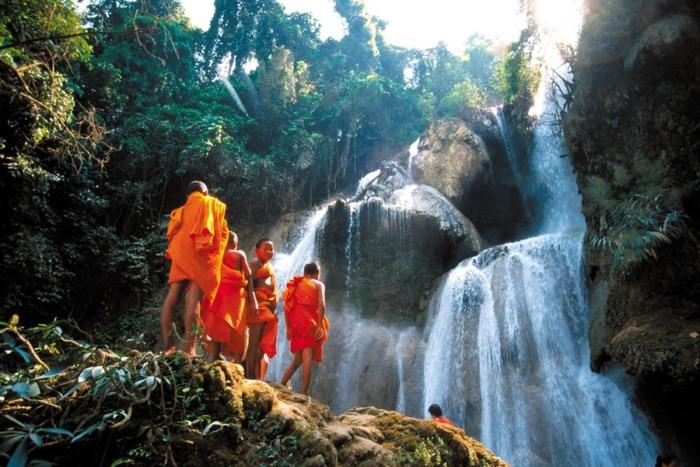 Cascata di Kuang Si, Cambogia