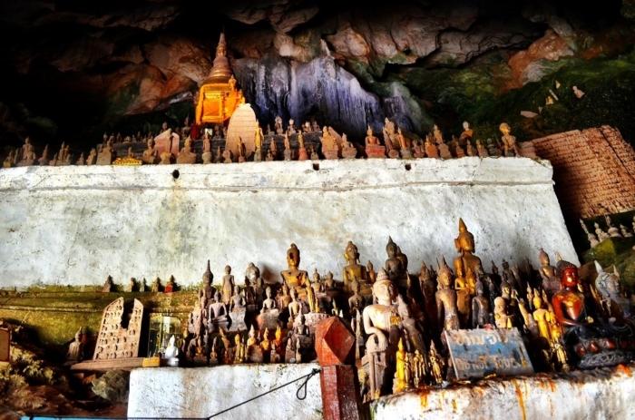 Grotta di Pak Ou, Cambogia
